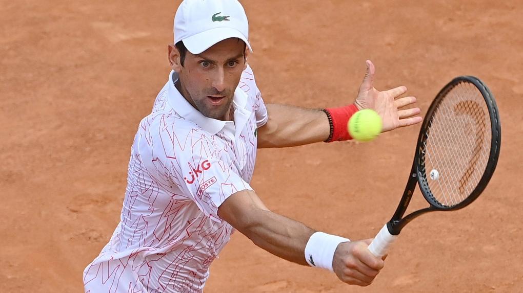 I Deserved It Djokovic Gets Obscenity Warning At Italian Open Ctv News