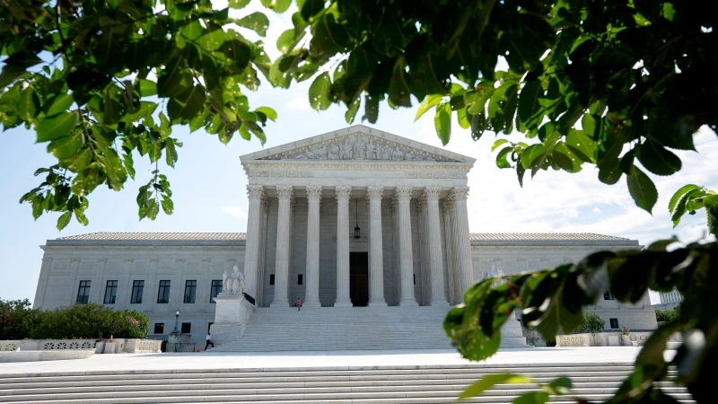 A  view of the U.S. Supreme Court building on June 30, 2020 in Washington. (Stefani Reynolds/Getty Images)