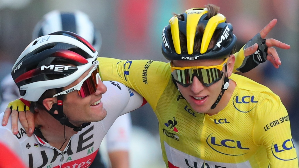 Tadej Pogacar Wins Covid Defying Tour De France Ctv News