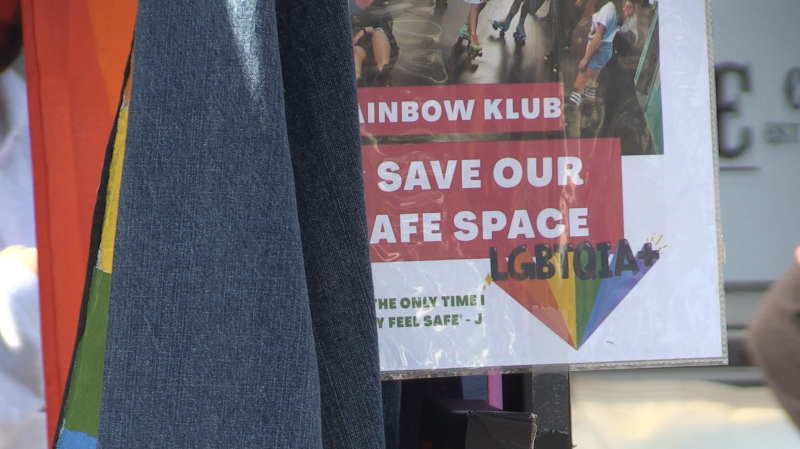 Krystin Miller-Jacques says the Rainbow Klub only the second safe space she's experienced, after leaving the Sault to head to Carleton University in Ottawa. Sept.20/20 (Christian D'Avino/CTV News Northern Ontario)