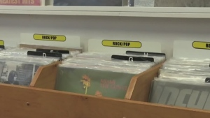 Resurgence of vinyl records