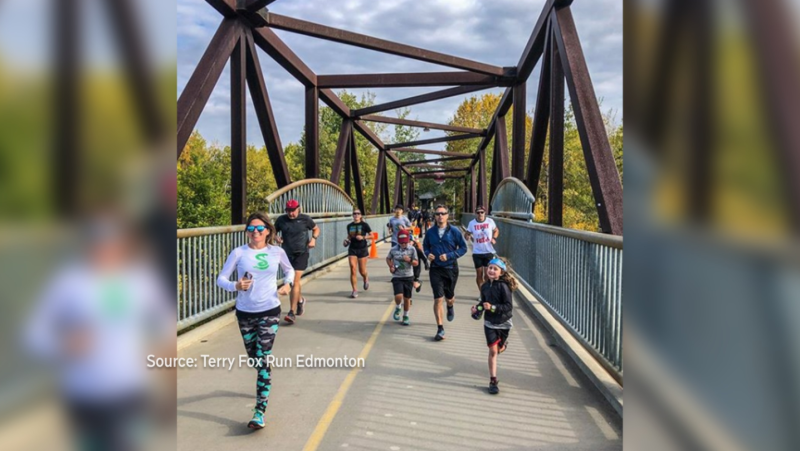 The 40th anniversary of the Terry Fox Run took place on Sunday.