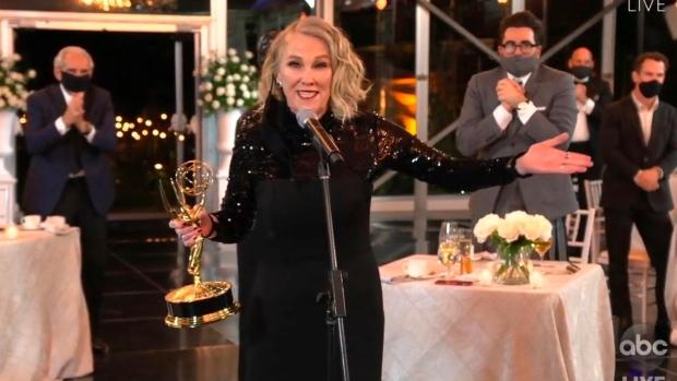 Emmys kick off with five 'Schitt's Creek' wins