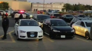 Police investigate car event in Ont.
