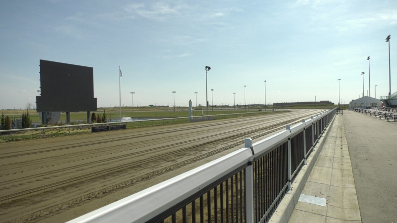 Century Mile Racetrack in Edmonton.