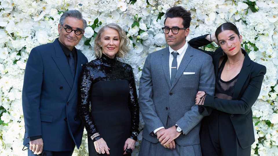 "The cast of ""Schitt's Creek"""