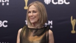 Catherine O'Hara arrives on the red carpet at the Canadian Screen Awards in Toronto on Sunday, March 11, 2018. (THE CANADIAN PRESS/Chris Young)