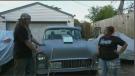 Suburban couple's hot rods go viral
