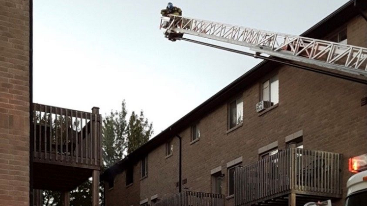 One man suffered severe injuries in a fire in Port Elgin, Ont. on Sunday, Sept. 20, 2020. (Source: Saugeen Shores Police Service)