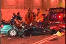 The woman killed in this collision was texting moments before the crash.