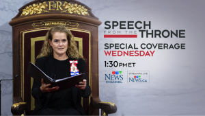 throne speech promo