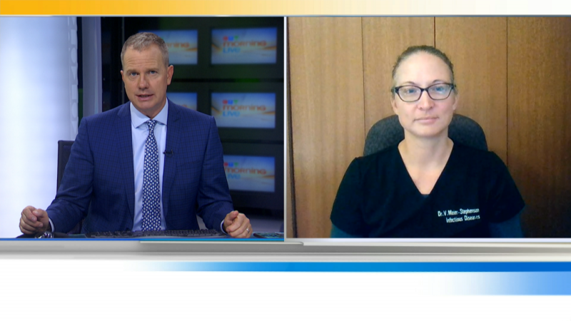 An infectious disease expert joins us with the latest on Covid-19.