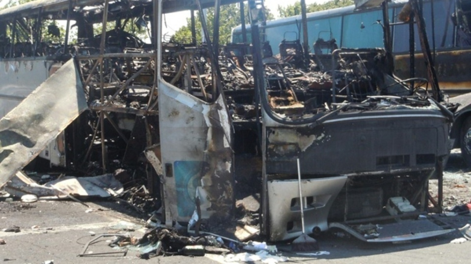 Israel bus bombing in Bulgaria