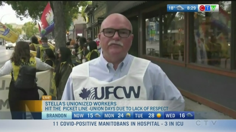 Union begins strike against Stella's Sherbrook