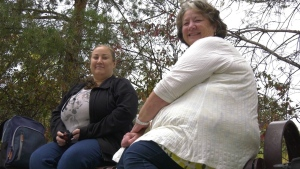 Gwen and Alexandra Taralson reached out to a local production to help find clues about their aunt's 1962 murder.