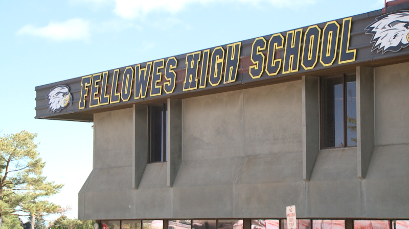 Fellowes High School in Pembroke, Ont. (CTV News Ottawa)