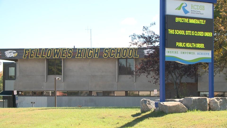 Fellowes High School, Pembroke, Ont.