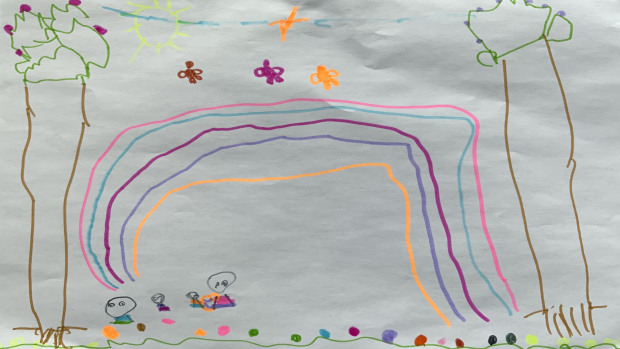 Naya Holmes, 5 years old, St Francis of Assisi Catholic School, Petawawa<br/>