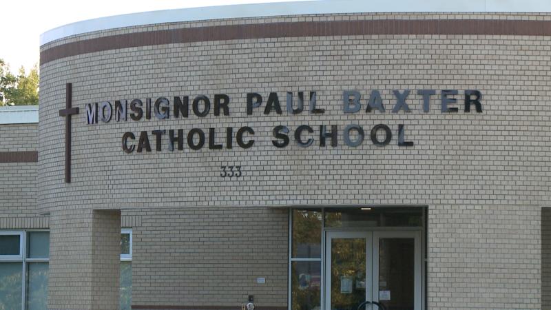 Monsignor Paul Baxter School in Barrhaven.