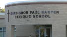 Ottawa Public Health has declared a COVID-19 outbreak at Monsignor Paul Baxter elementary school in Barrhaven.