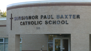 Ottawa Public Health has declared a COVID-19 outbreak at Monsignor Paul Baxter elementary school in Barrhaven.