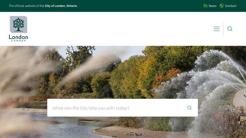New City of London website