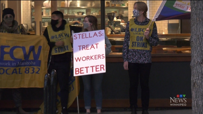Restaurant employees hit picket lines