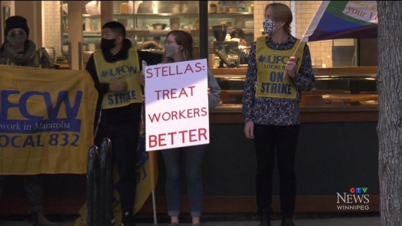 Restaurant employees hit picket lines