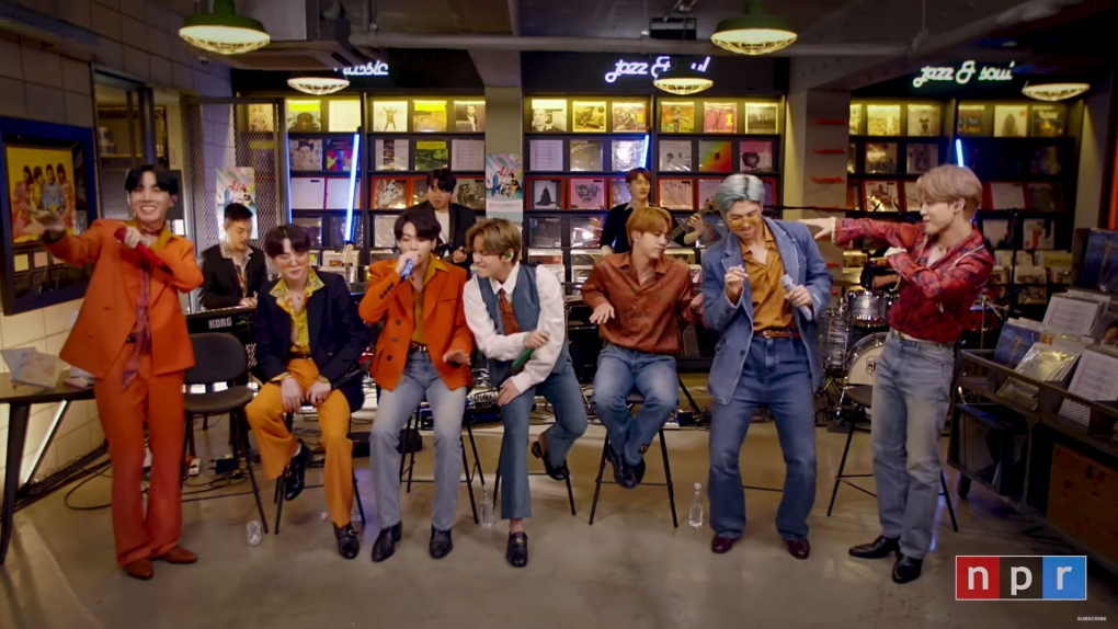 Watch BTS Play A Tiny Desk From Home
