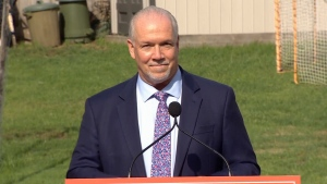 Horgan calls snap election in B.C.