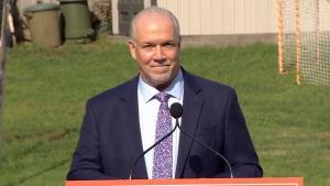 Horgan calls snap election in B.C.