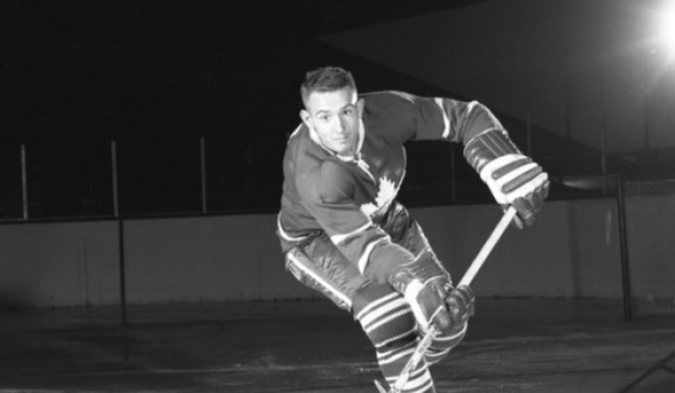 Former Toronto Maple Leaf and South Porcupine native Bob Nevin has passed away at age 82. (File)