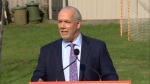 Highlights of Horgan's election announcement