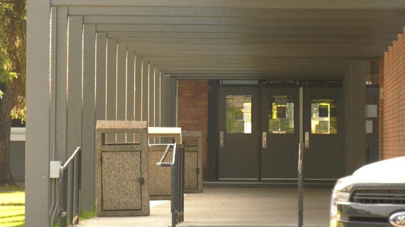 Vimy Ridge Academy doors