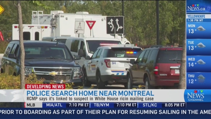 Quebec residence linked to White House ricin case