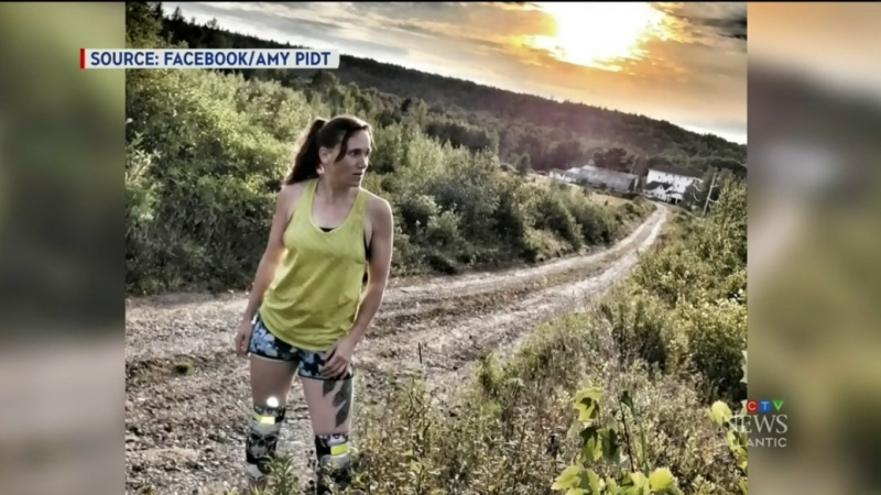Runner Amy Pidt is raising funds to help the Humanity Project with their newest project. (Source: Amy Pidt/Facebook)