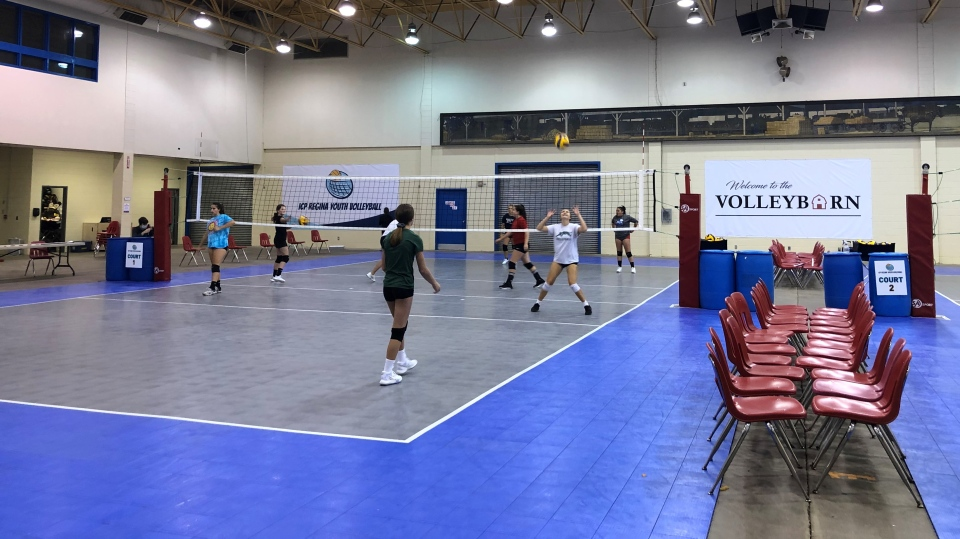 REAL (Regina Exhibition Associated Limited) will be leasing the Canada Centre in Evraz Place to the Summit Volleyball Club and ICP Regina Youth Volleyball. (Claire Hanna/CTV Regina)
