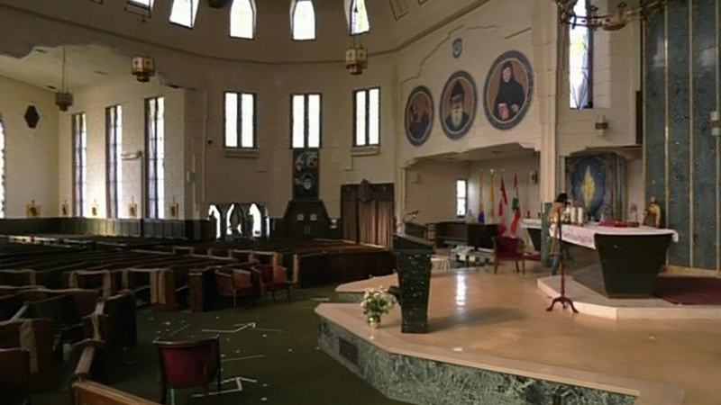 Repairs needed at St. Peter's Maronite Church