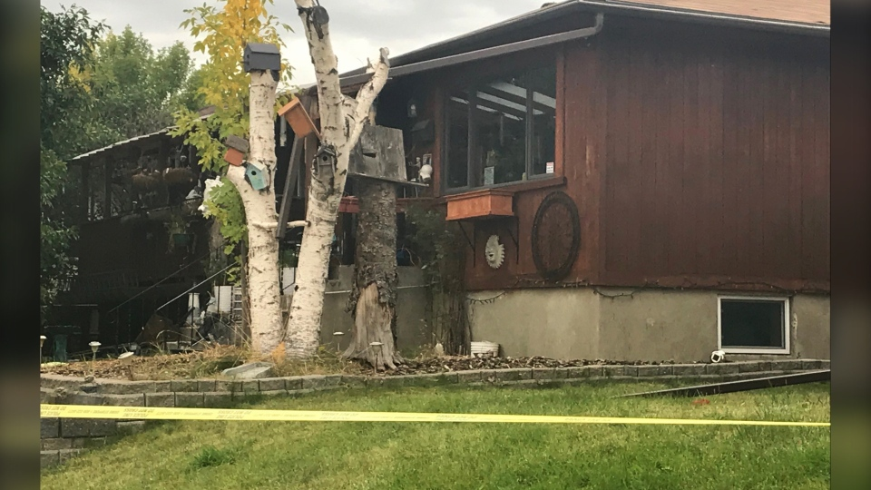 Calgary Greenview stabbing homicide scene