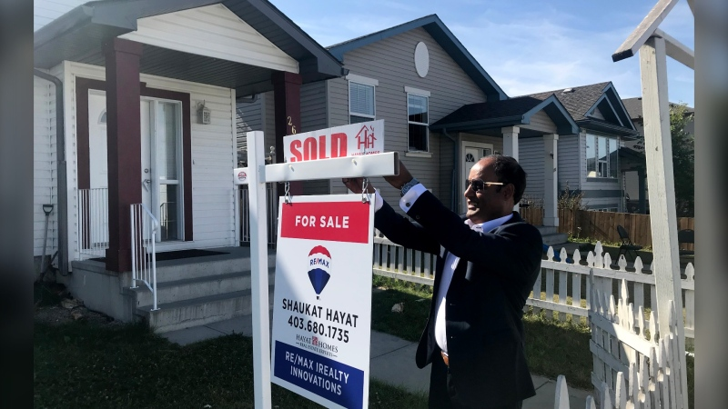 Calgary realtor Shaukat Hayat says despite the pandemic he had one of his busiest summers ever.