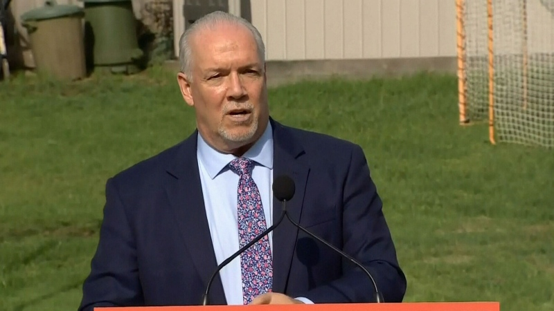 Horgan announces B.C. election