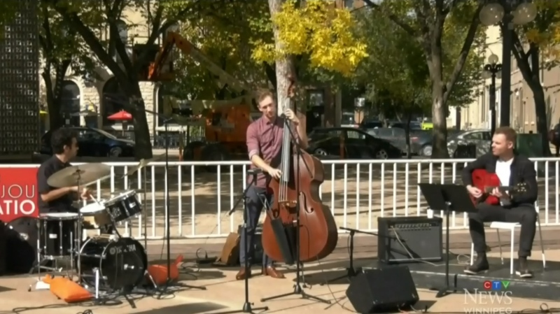 Jazz Winnipeg has also been offering live performances throughout the summer and continuing into fall, outside in the Exchange District and inside the West End Cultural Centre, with public health guidelines in place.