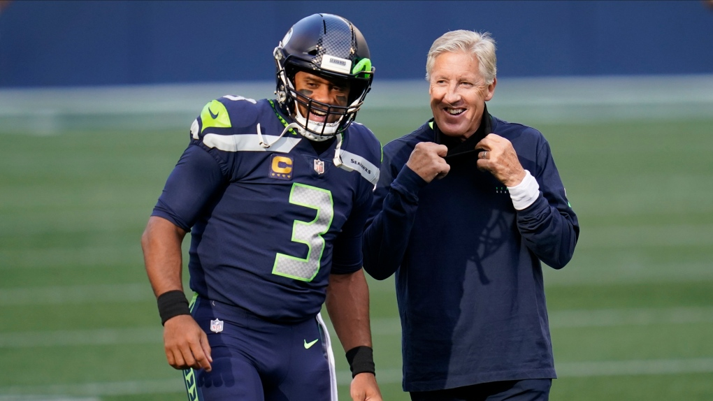 head coach Pete Carroll