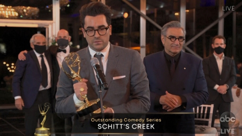 CTV National News: 'Schitt's Creek' sweeps