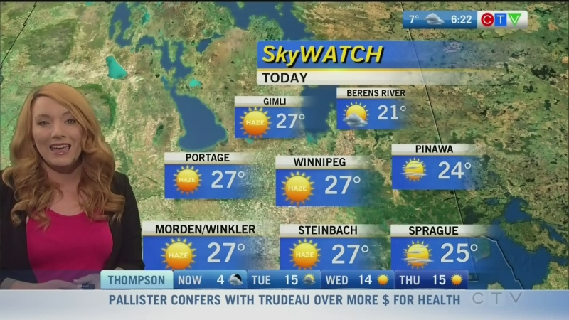 CTV Morning Live Weather Update for September 22