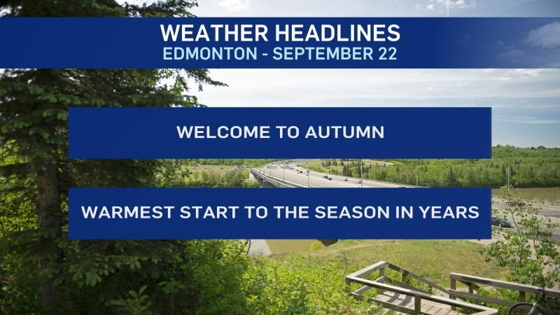 Sept. 22 weather headlines