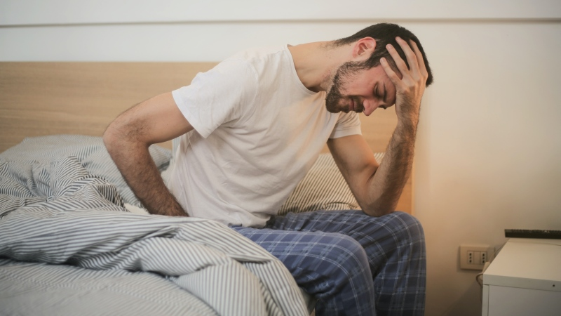 A new study out of Dublin has found that more than half of COVID-19 patients have persistent fatigue months after recovery and that women and those with depression were more likely to experience the lingering exhaustion. (Pexels/Andrea Piacquadio)