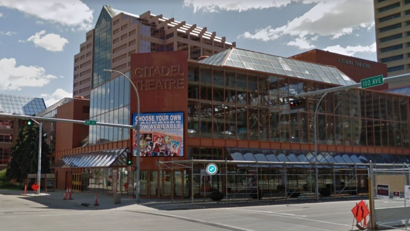 The Citadel Theatre is hosting a digital community forum on its diversity and inclusion report. (Google Street View)
