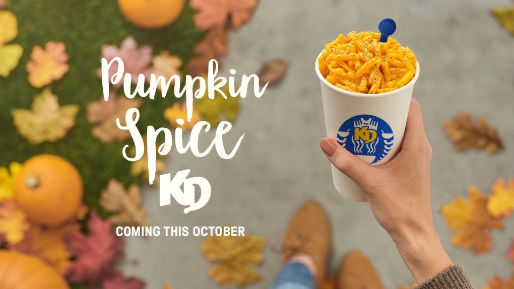 Pumpkin Spice Kraft Dinner
