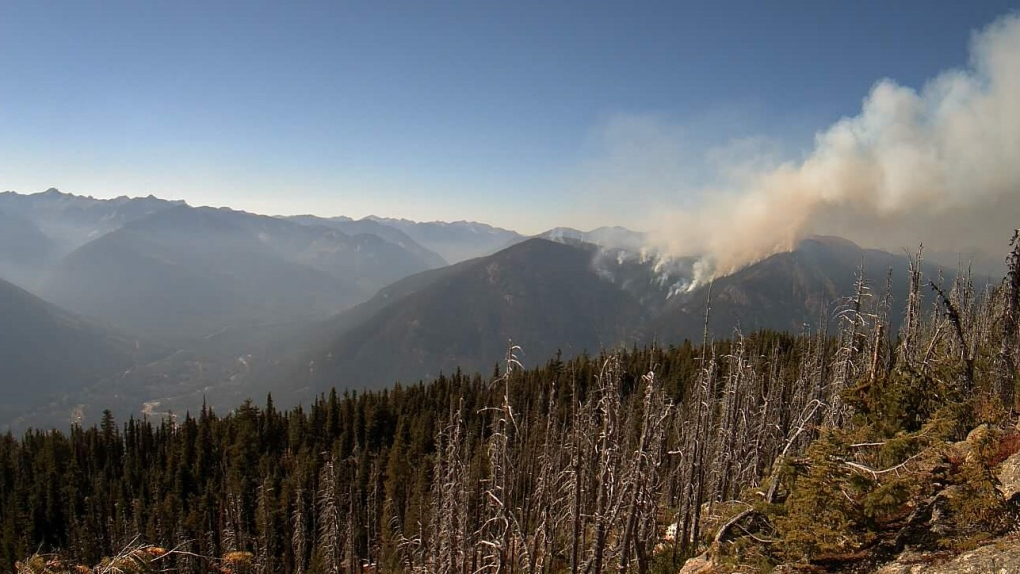 Talbott Creek fire